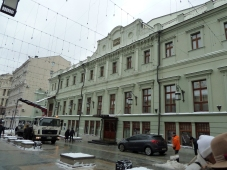 Art Nouveau style exterior of Moscow Art Theatre